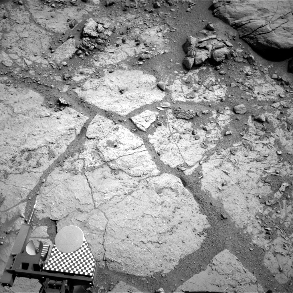 NASA's Mars rover Curiosity acquired this image using its Right Navigation Cameras (Navcams) on Sol 279