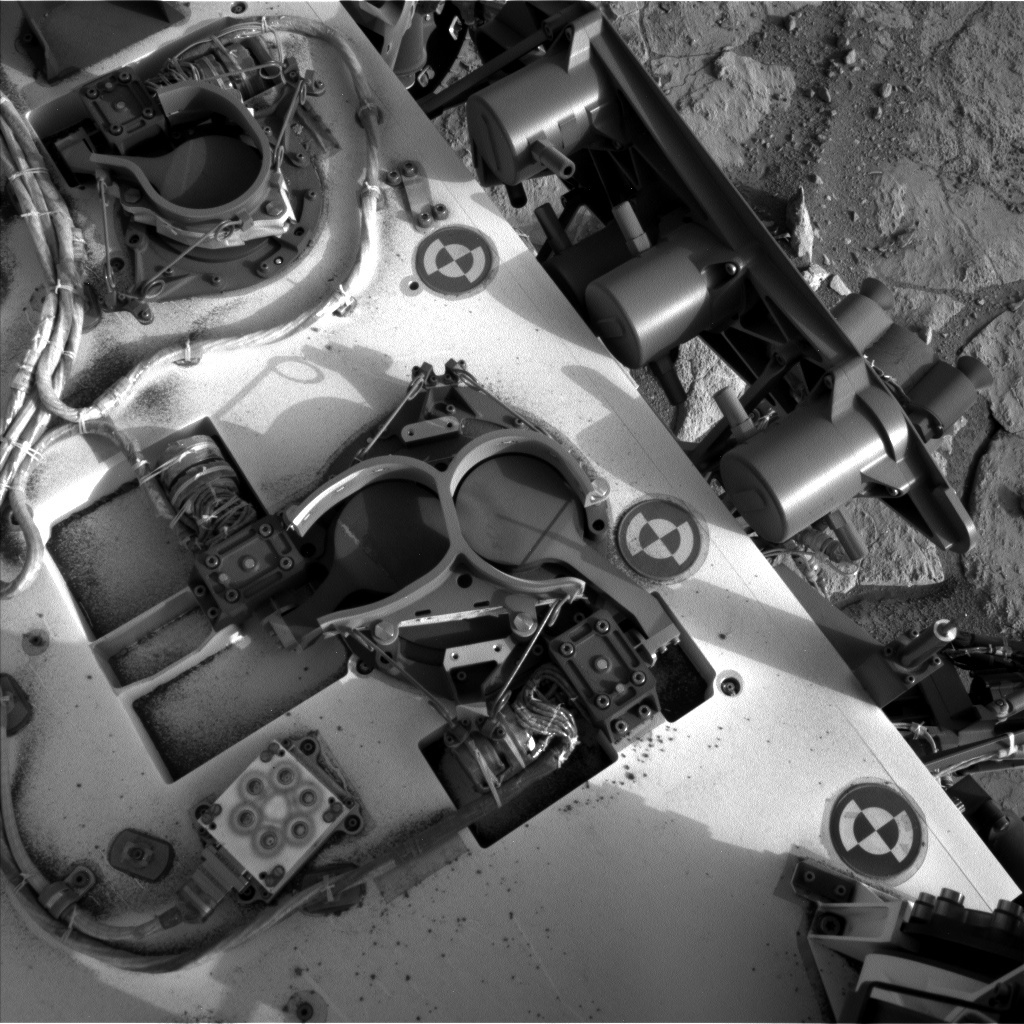 NASA's Mars rover Curiosity acquired this image using its Left Navigation Camera (Navcams) on Sol 281