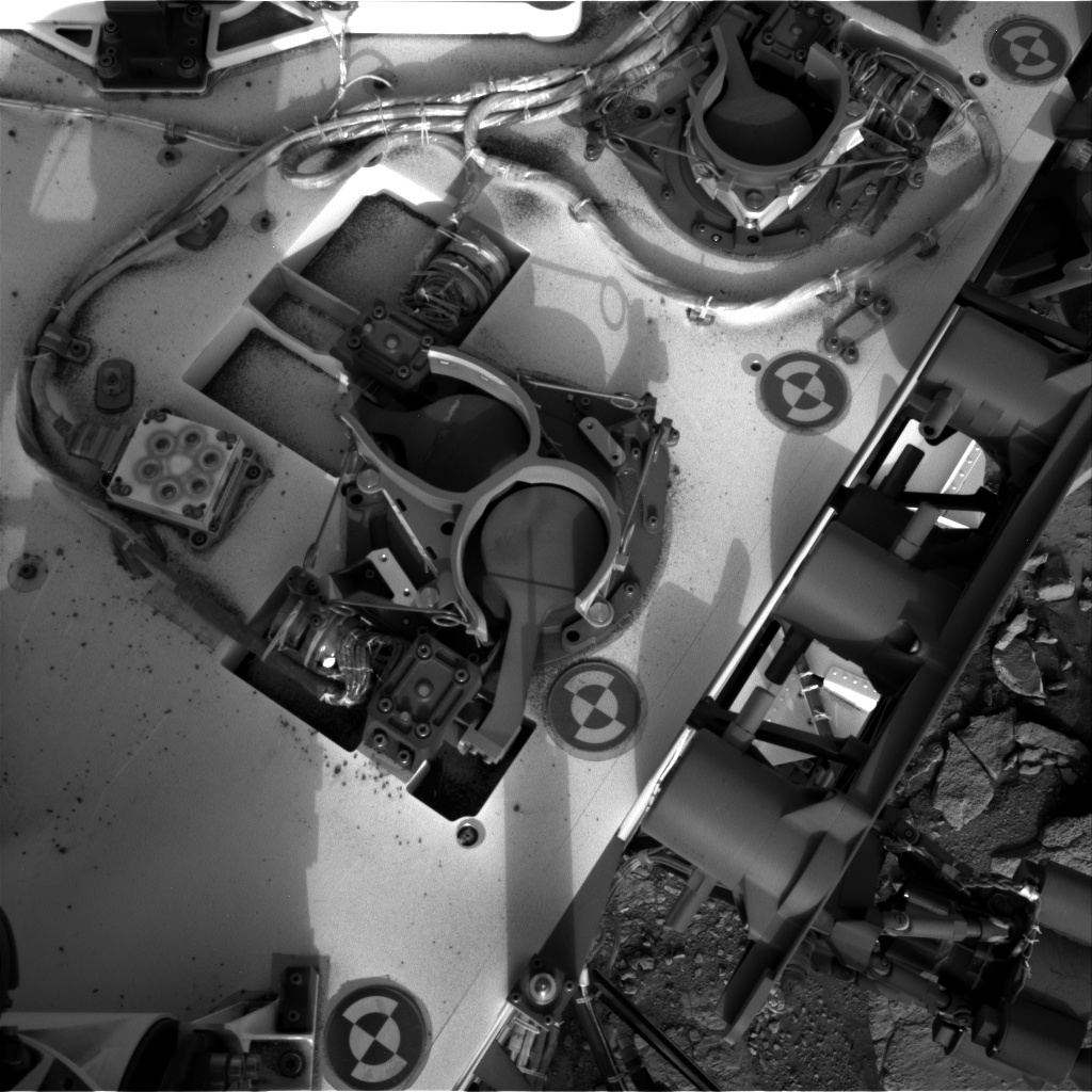 NASA's Mars rover Curiosity acquired this image using its Right Navigation Cameras (Navcams) on Sol 281