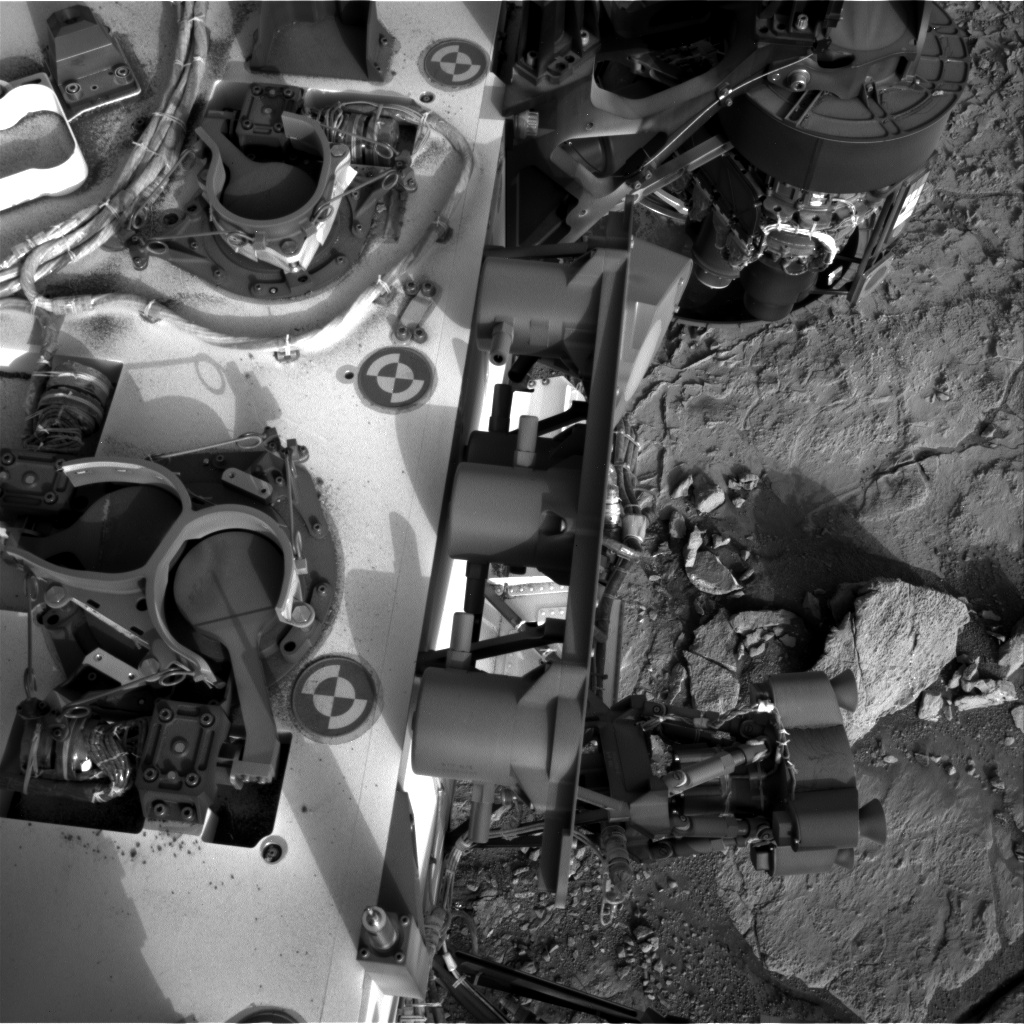 Nasa's Mars rover Curiosity acquired this image using its Right Navigation Camera on Sol 281, at drive 82, site number 6