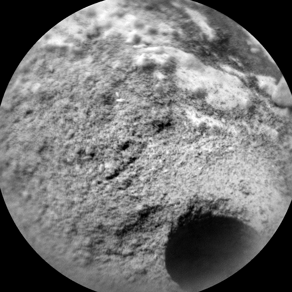 Nasa's Mars rover Curiosity acquired this image using its Chemistry & Camera (ChemCam) on Sol 281, at drive 82, site number 6
