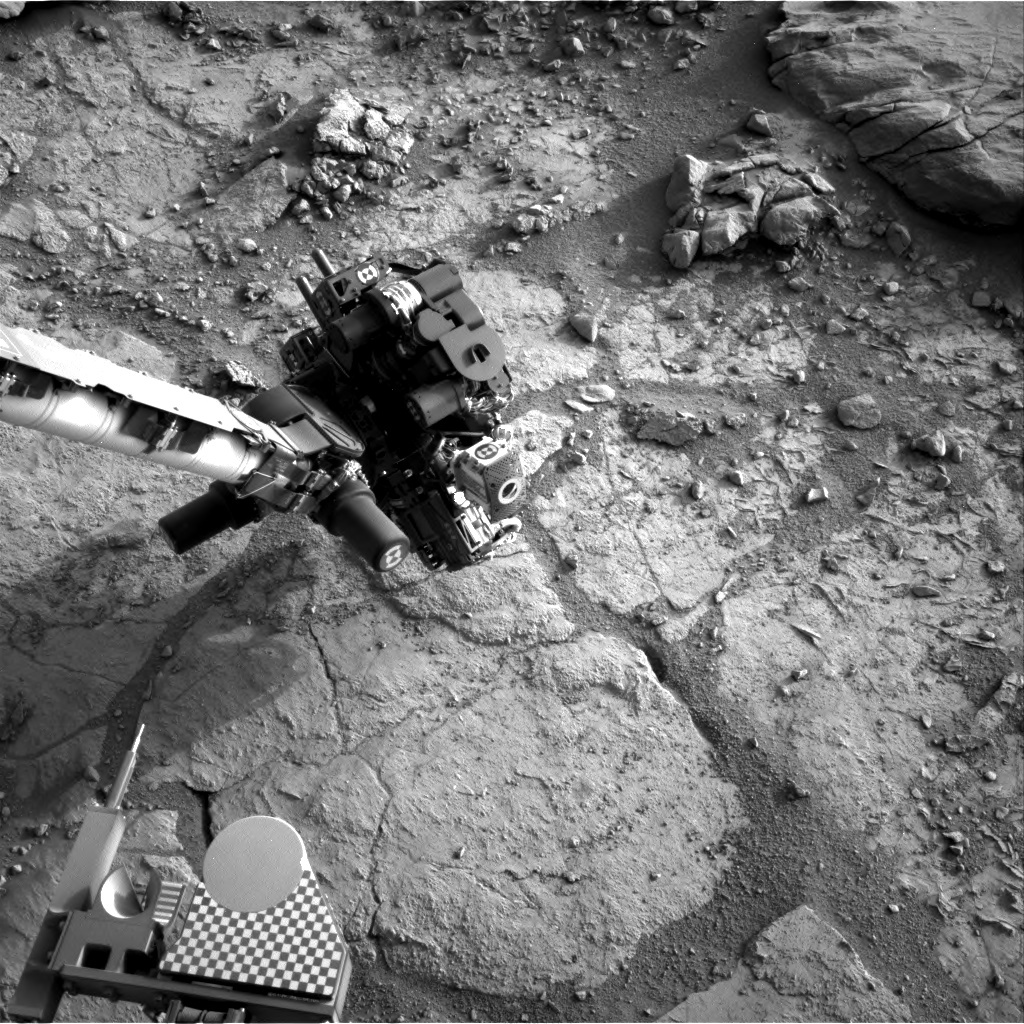 NASA's Mars rover Curiosity acquired this image using its Right Navigation Cameras (Navcams) on Sol 283