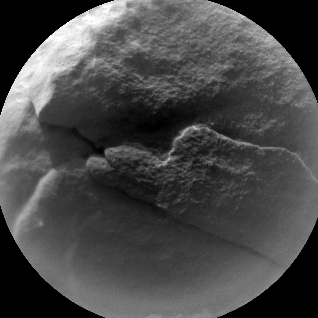 Nasa's Mars rover Curiosity acquired this image using its Chemistry & Camera (ChemCam) on Sol 283, at drive 82, site number 6