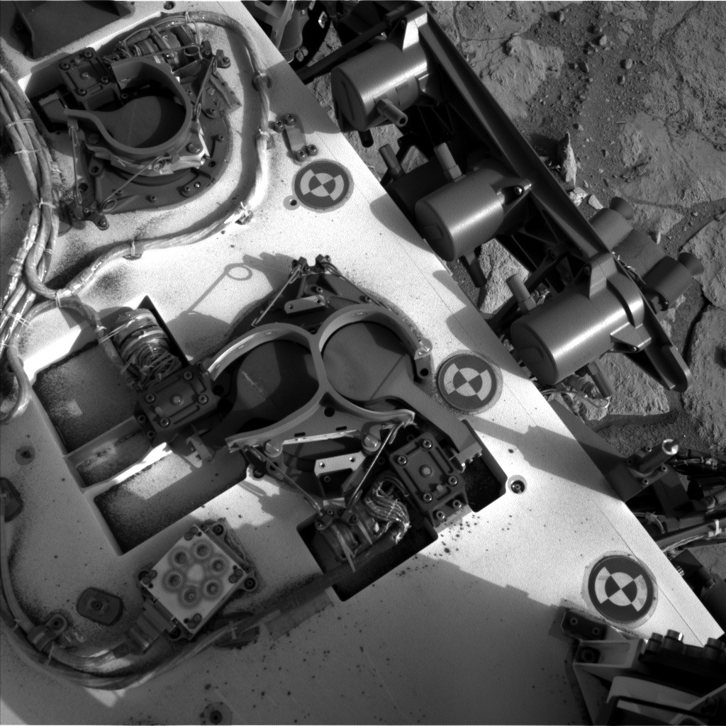 NASA's Mars rover Curiosity acquired this image using its Left Navigation Camera (Navcams) on Sol 286