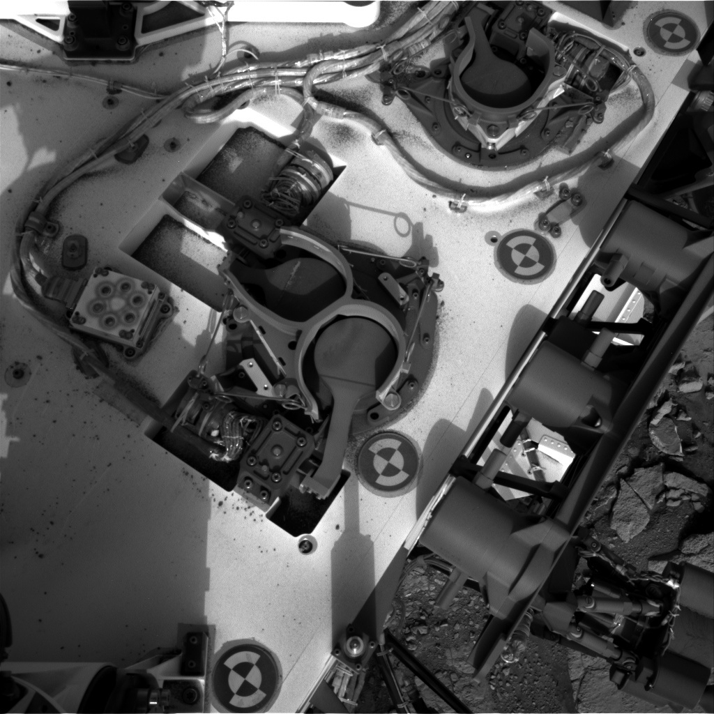NASA's Mars rover Curiosity acquired this image using its Right Navigation Cameras (Navcams) on Sol 286