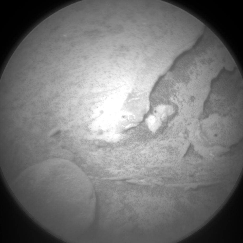 Nasa's Mars rover Curiosity acquired this image using its Chemistry & Camera (ChemCam) on Sol 288, at drive 82, site number 6