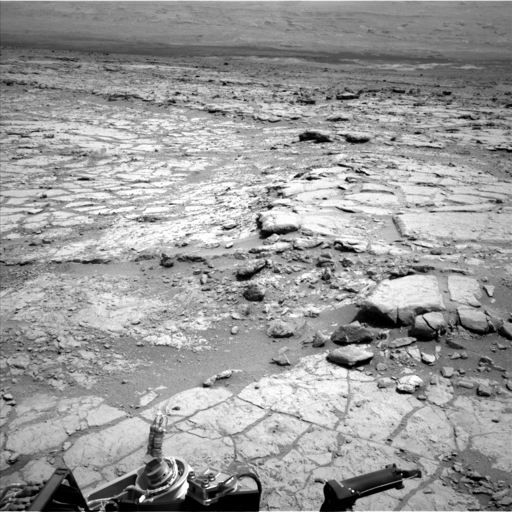 NASA's Mars rover Curiosity acquired this image using its Left Navigation Camera (Navcams) on Sol 289