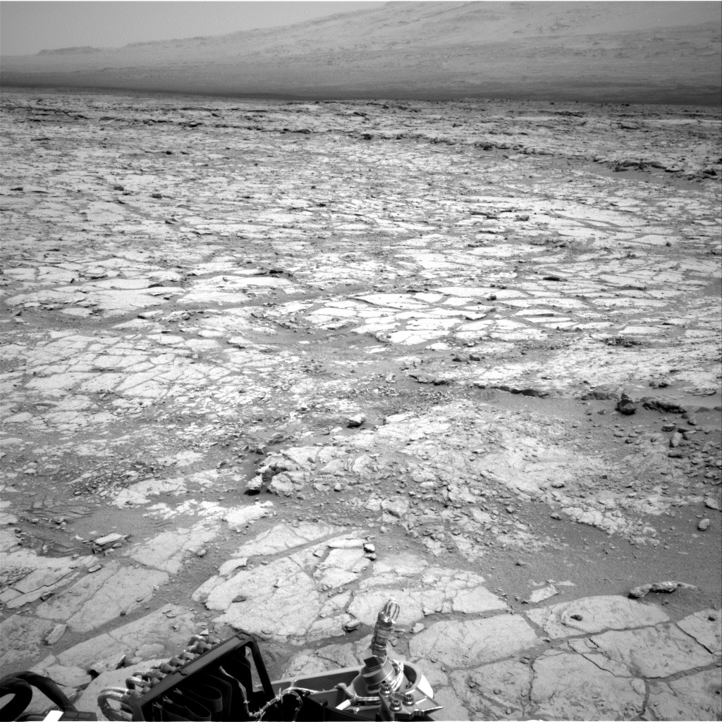 NASA's Mars rover Curiosity acquired this image using its Right Navigation Cameras (Navcams) on Sol 289