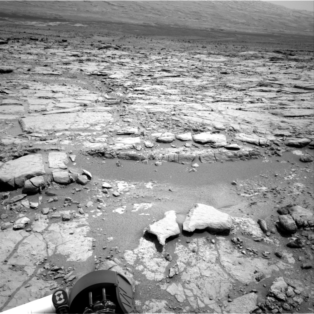 Nasa's Mars rover Curiosity acquired this image using its Right Navigation Camera on Sol 289, at drive 82, site number 6