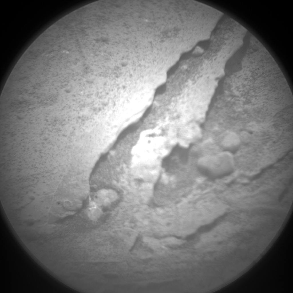 NASA's Mars rover Curiosity acquired this image using its Chemistry & Camera (ChemCam) on Sol 290