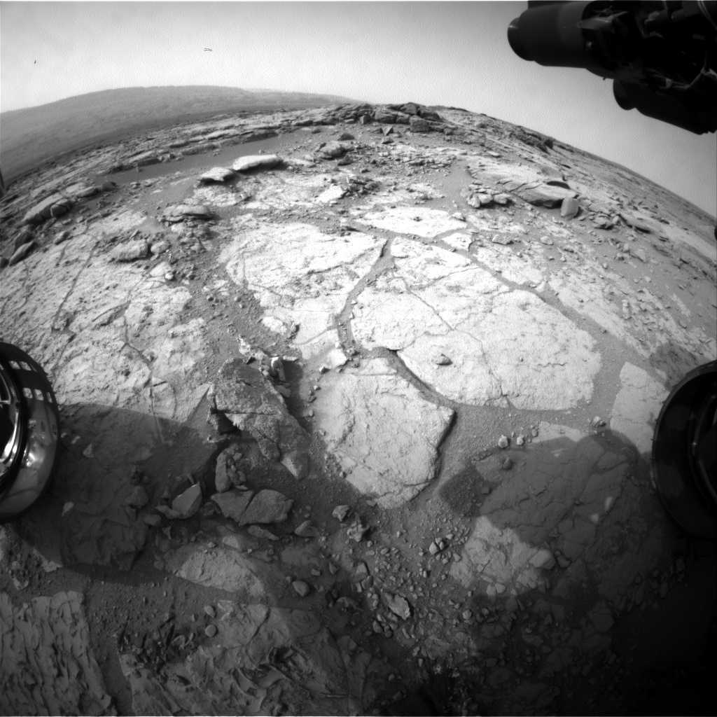 NASA's Mars rover Curiosity acquired this image using its Front Hazard Avoidance Cameras (Front Hazcams) on Sol 290