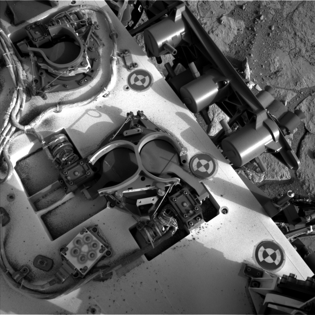 NASA's Mars rover Curiosity acquired this image using its Left Navigation Camera (Navcams) on Sol 290