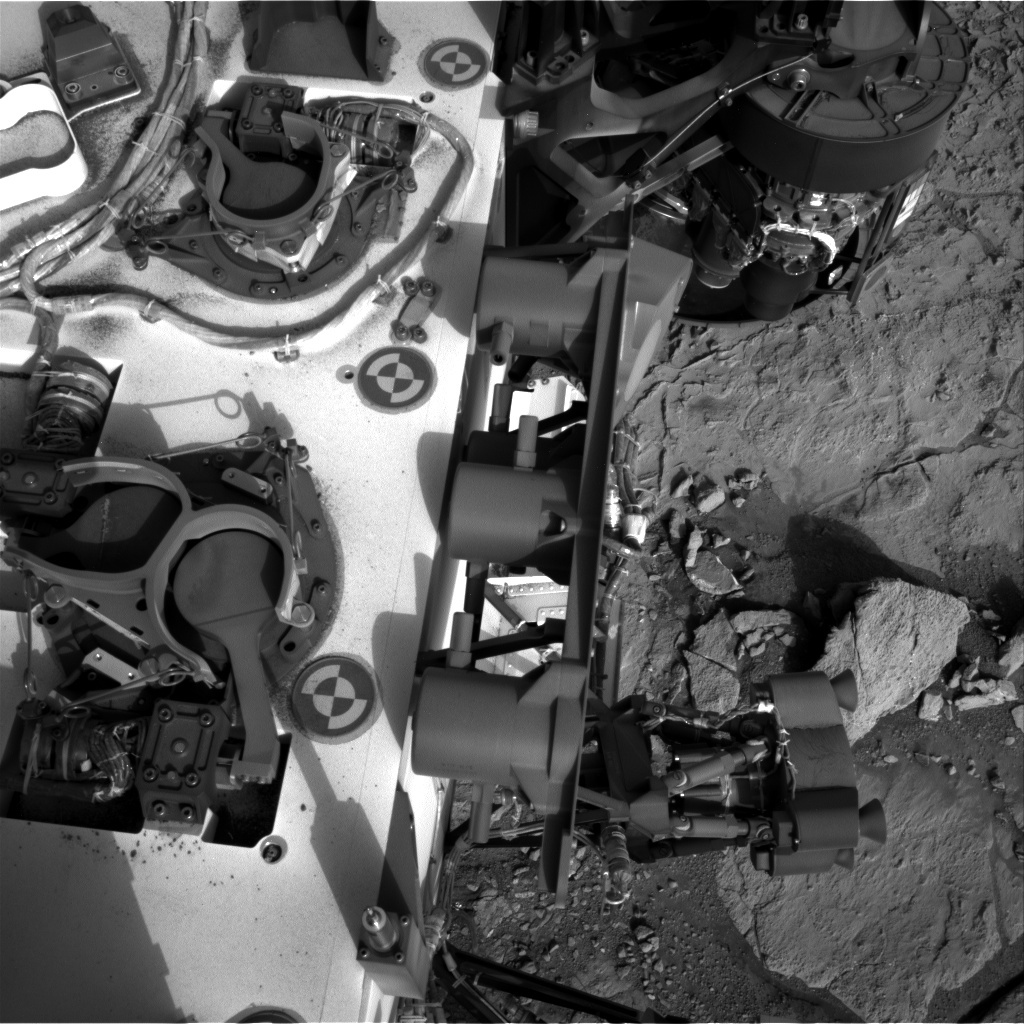 NASA's Mars rover Curiosity acquired this image using its Right Navigation Cameras (Navcams) on Sol 290