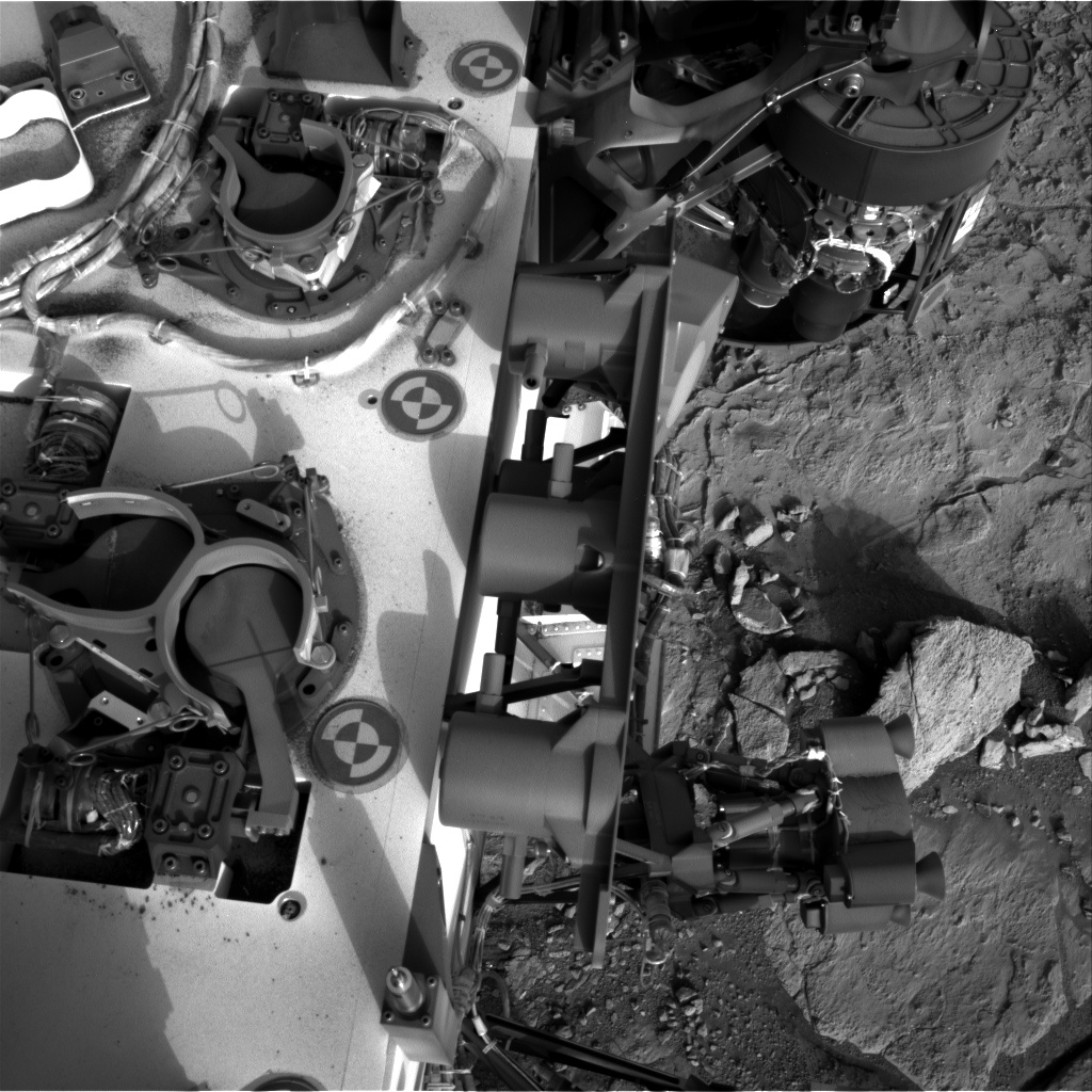 Nasa's Mars rover Curiosity acquired this image using its Right Navigation Camera on Sol 290, at drive 82, site number 6
