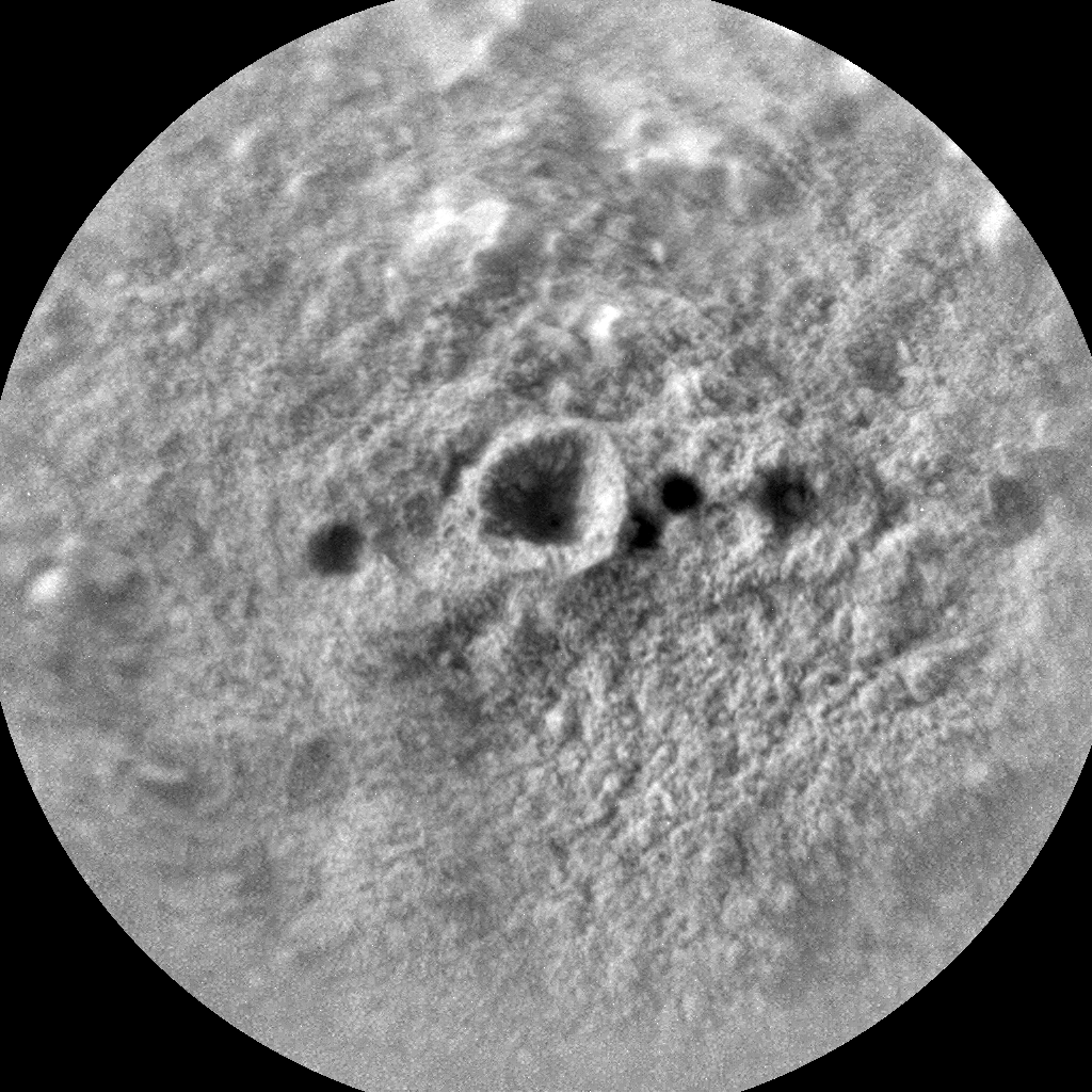 Nasa's Mars rover Curiosity acquired this image using its Chemistry & Camera (ChemCam) on Sol 290, at drive 82, site number 6