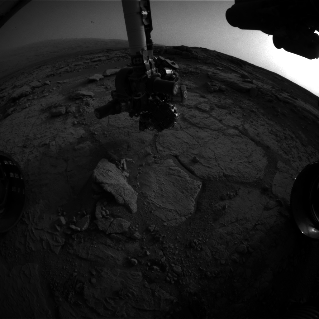 Nasa's Mars rover Curiosity acquired this image using its Front Hazard Avoidance Camera (Front Hazcam) on Sol 291, at drive 82, site number 6