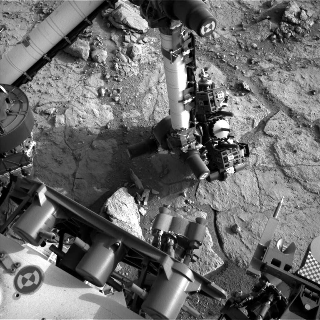 NASA's Mars rover Curiosity acquired this image using its Left Navigation Camera (Navcams) on Sol 291
