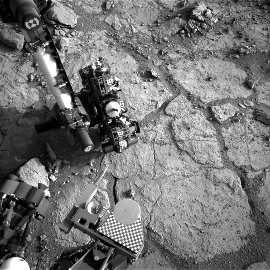 NASA's Mars rover Curiosity acquired this image using its Right Navigation Cameras (Navcams) on Sol 291