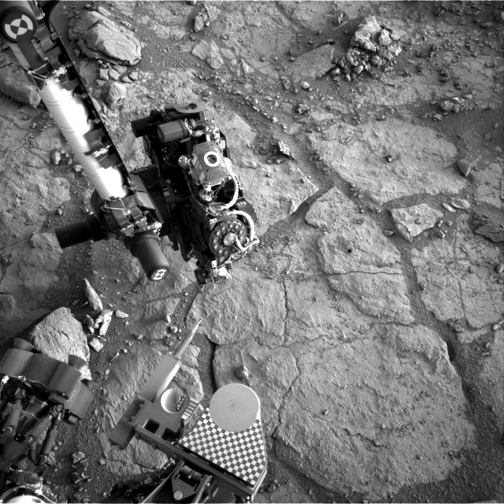 Nasa's Mars rover Curiosity acquired this image using its Right Navigation Camera on Sol 291, at drive 82, site number 6