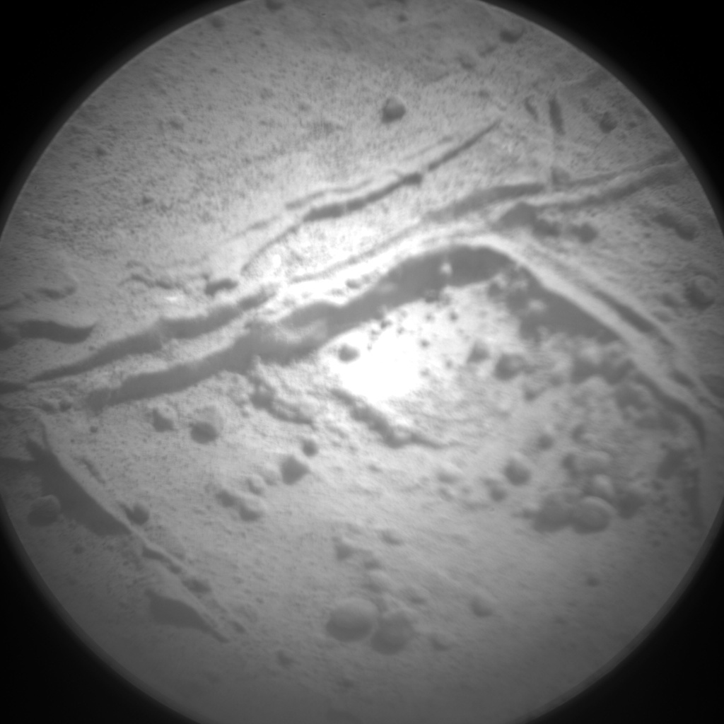 Nasa's Mars rover Curiosity acquired this image using its Chemistry & Camera (ChemCam) on Sol 293, at drive 82, site number 6