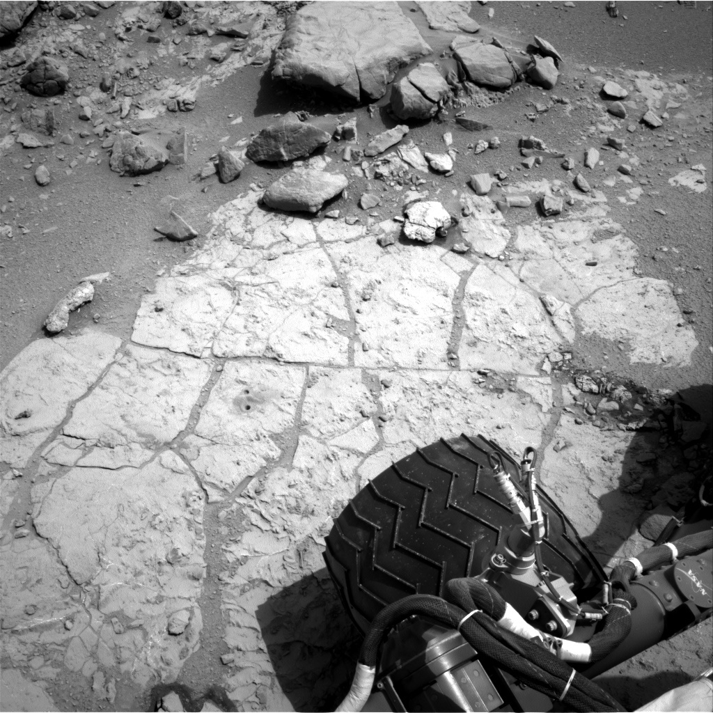 NASA's Mars rover Curiosity acquired this image using its Right Navigation Cameras (Navcams) on Sol 296