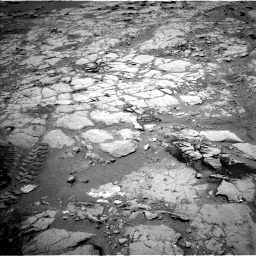 Nasa's Mars rover Curiosity acquired this image using its Left Navigation Camera on Sol 297, at drive 196, site number 6