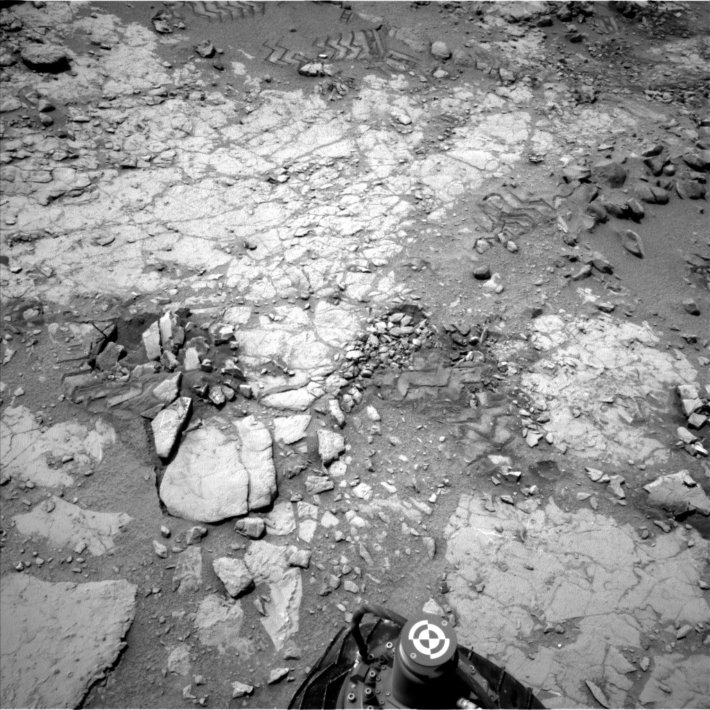 Nasa's Mars rover Curiosity acquired this image using its Left Navigation Camera on Sol 297, at drive 224, site number 6
