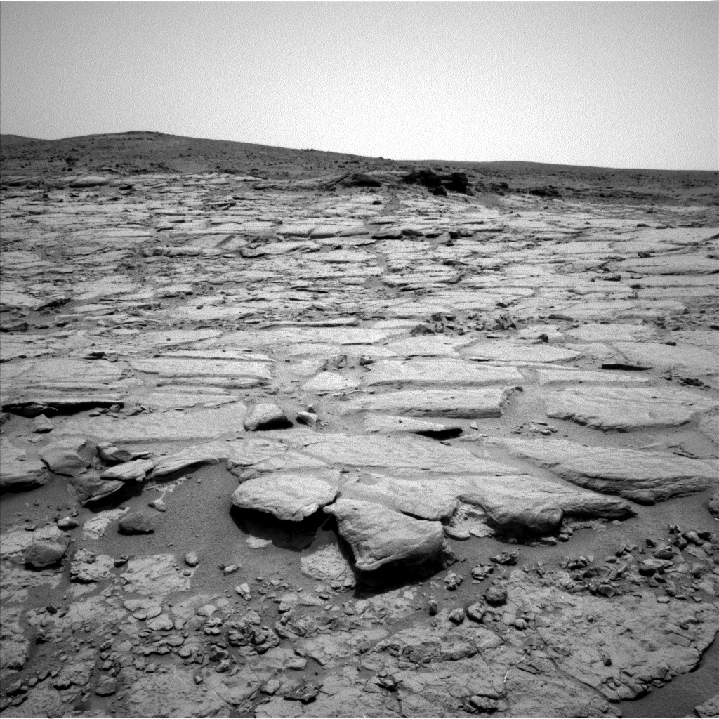 NASA's Mars rover Curiosity acquired this image using its Left Navigation Camera (Navcams) on Sol 297