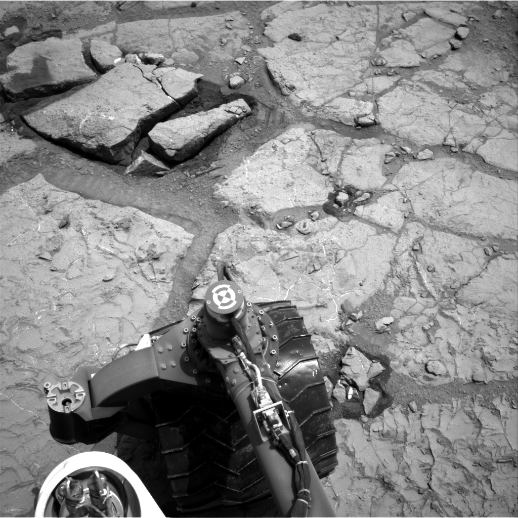 Nasa's Mars rover Curiosity acquired this image using its Right Navigation Camera on Sol 297, at drive 122, site number 6