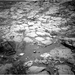 Nasa's Mars rover Curiosity acquired this image using its Right Navigation Camera on Sol 297, at drive 202, site number 6