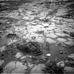 Nasa's Mars rover Curiosity acquired this image using its Right Navigation Camera on Sol 297, at drive 208, site number 6