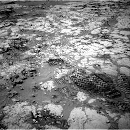Nasa's Mars rover Curiosity acquired this image using its Right Navigation Camera on Sol 297, at drive 214, site number 6