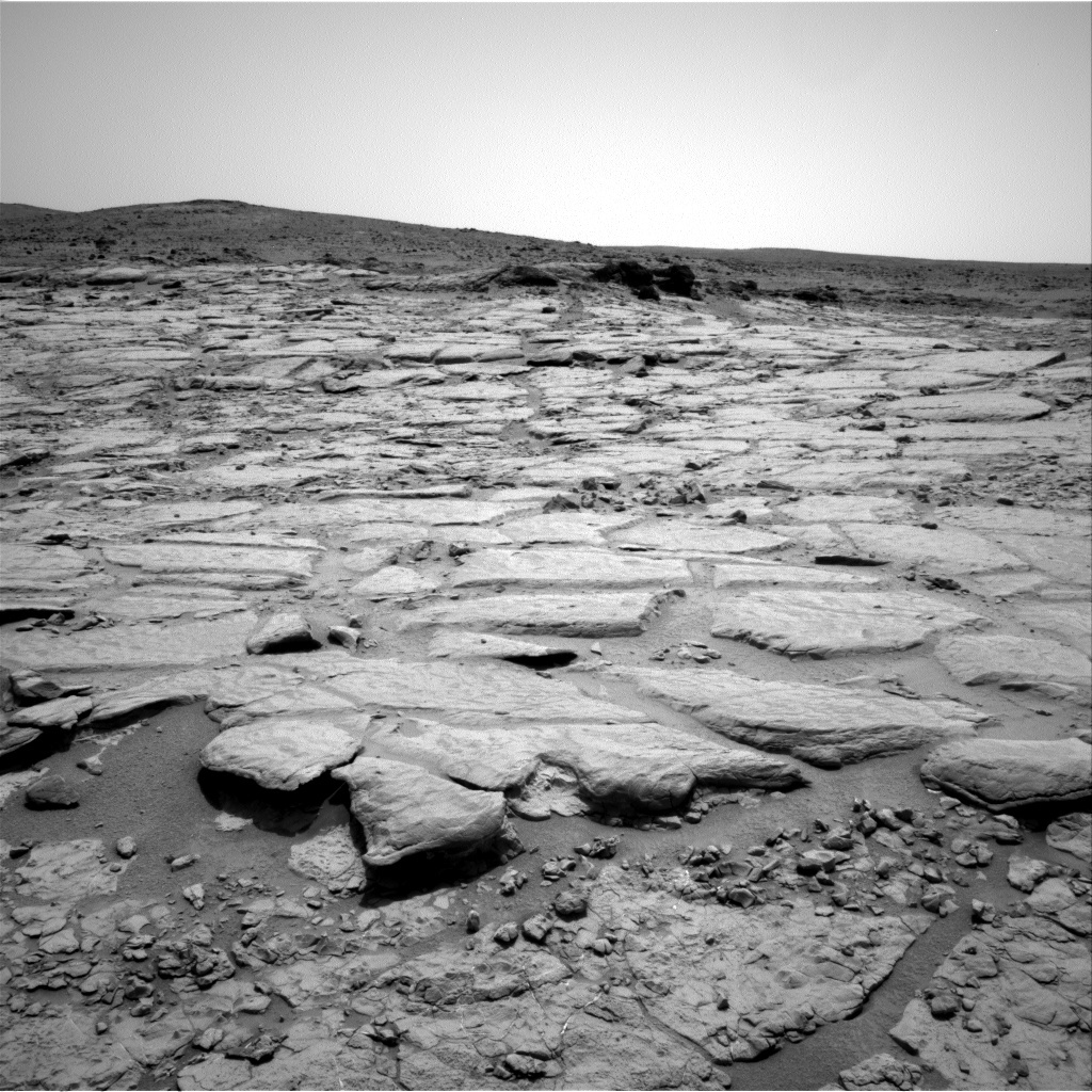 NASA's Mars rover Curiosity acquired this image using its Right Navigation Cameras (Navcams) on Sol 297