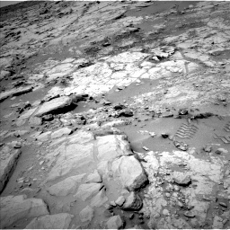 Nasa's Mars rover Curiosity acquired this image using its Left Navigation Camera on Sol 299, at drive 266, site number 6