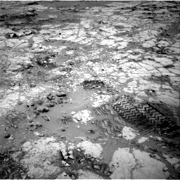 Nasa's Mars rover Curiosity acquired this image using its Right Navigation Camera on Sol 299, at drive 224, site number 6