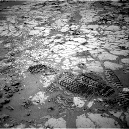 Nasa's Mars rover Curiosity acquired this image using its Right Navigation Camera on Sol 299, at drive 236, site number 6