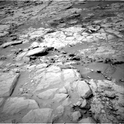 Nasa's Mars rover Curiosity acquired this image using its Right Navigation Camera on Sol 299, at drive 272, site number 6