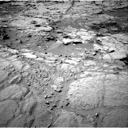 NASA's Mars rover Curiosity acquired this image using its Right Navigation Cameras (Navcams) on Sol 299