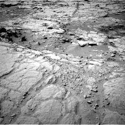 Nasa's Mars rover Curiosity acquired this image using its Right Navigation Camera on Sol 299, at drive 302, site number 6