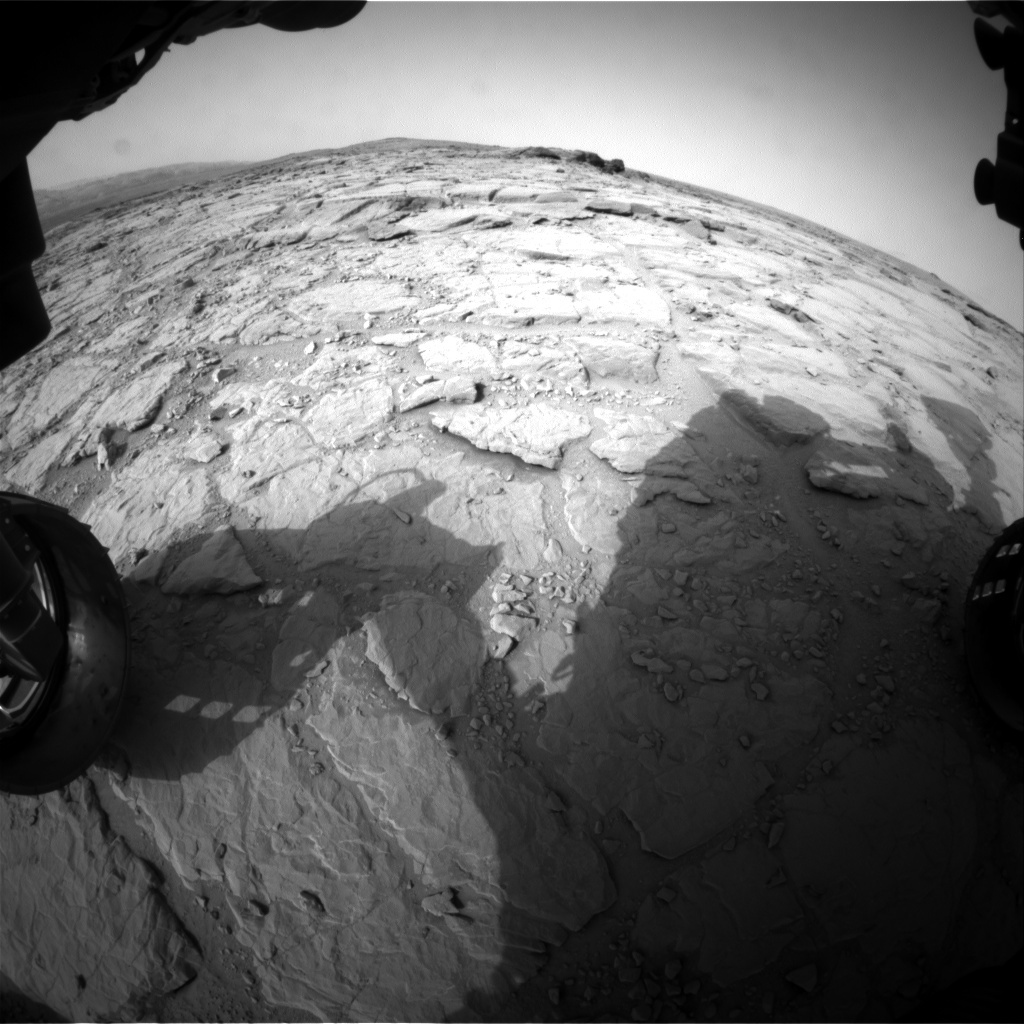 NASA's Mars rover Curiosity acquired this image using its Front Hazard Avoidance Cameras (Front Hazcams) on Sol 300