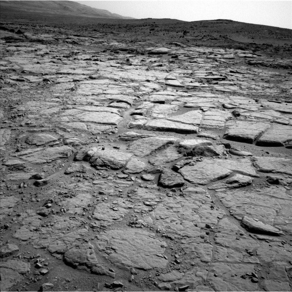 Nasa's Mars rover Curiosity acquired this image using its Left Navigation Camera on Sol 300, at drive 308, site number 6