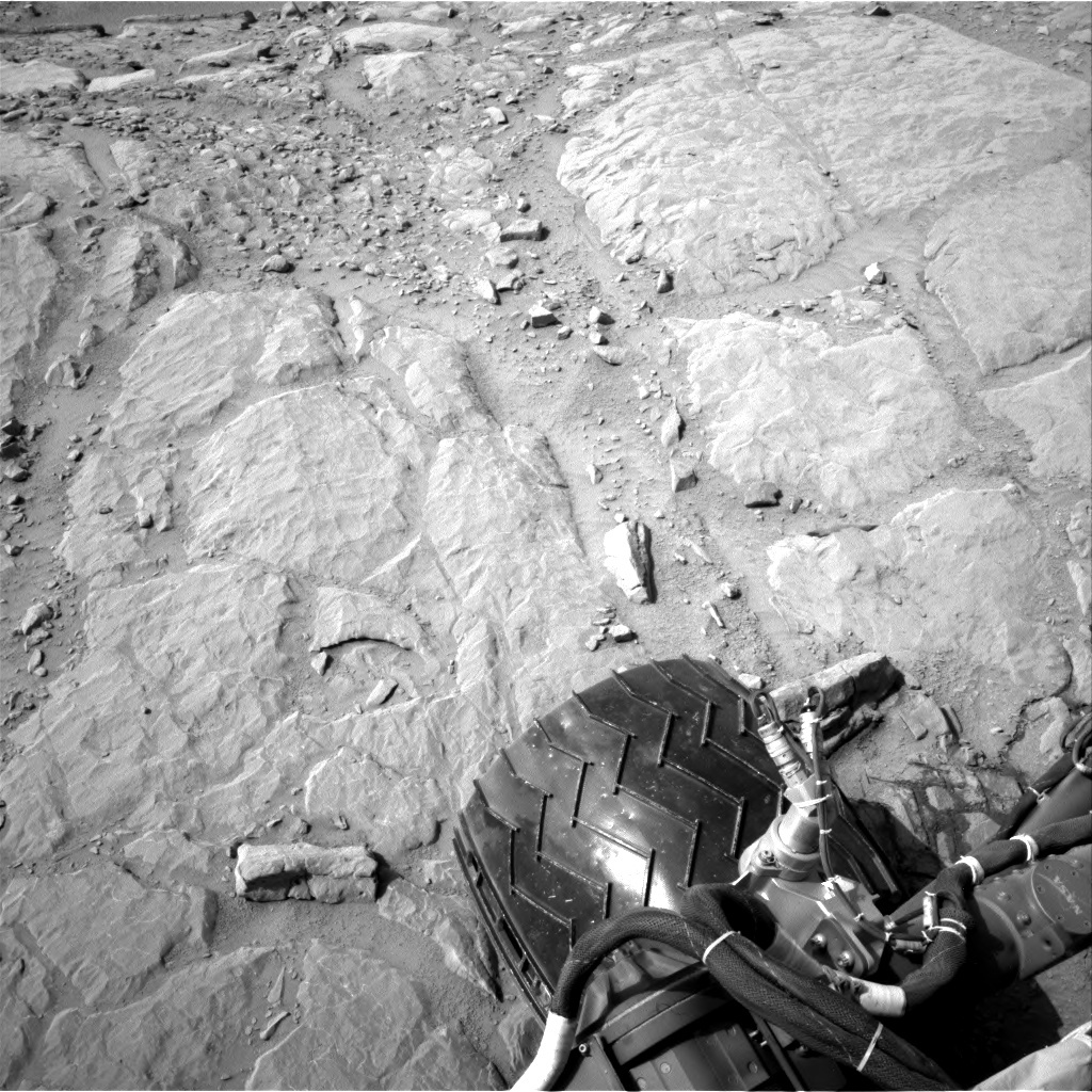 NASA's Mars rover Curiosity acquired this image using its Right Navigation Cameras (Navcams) on Sol 300