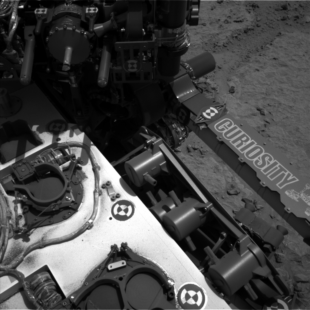 NASA's Mars rover Curiosity acquired this image using its Left Navigation Camera (Navcams) on Sol 301