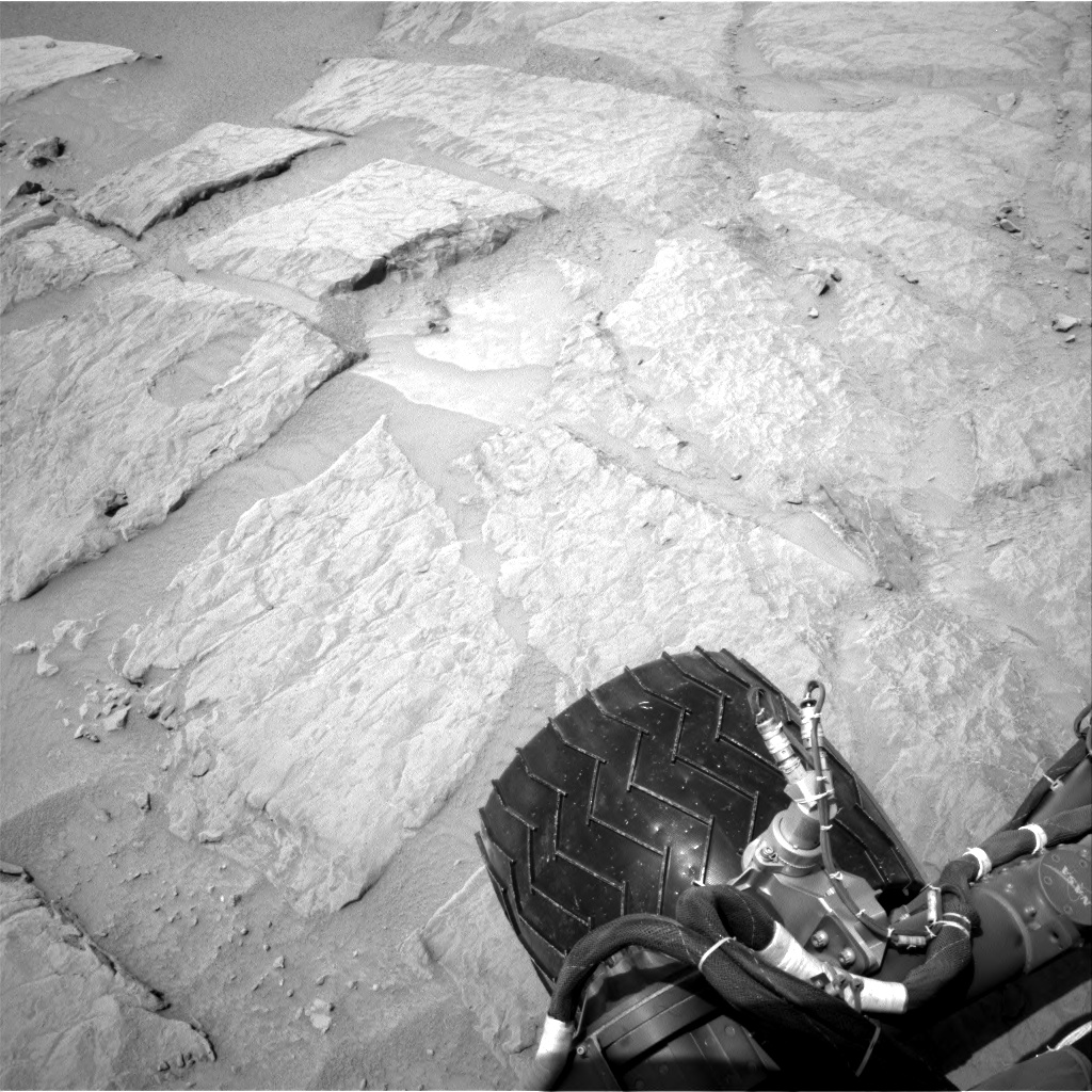 Nasa's Mars rover Curiosity acquired this image using its Right Navigation Camera on Sol 301, at drive 410, site number 6