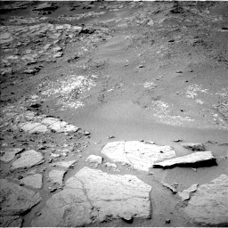 Nasa's Mars rover Curiosity acquired this image using its Left Navigation Camera on Sol 302, at drive 440, site number 6