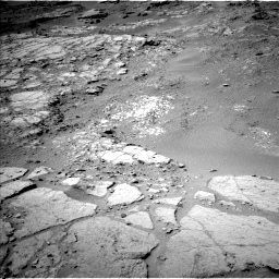 Nasa's Mars rover Curiosity acquired this image using its Left Navigation Camera on Sol 302, at drive 446, site number 6