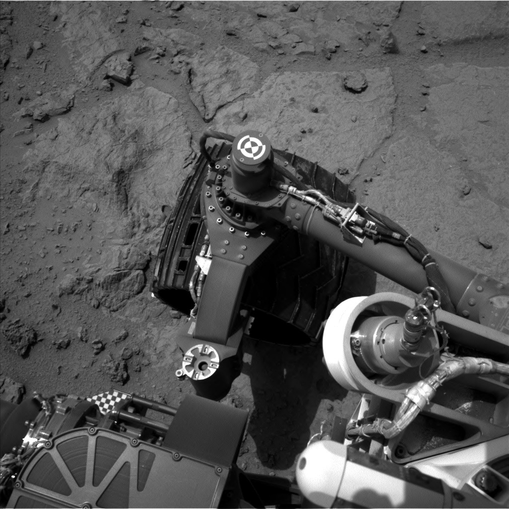 NASA's Mars rover Curiosity acquired this image using its Left Navigation Camera (Navcams) on Sol 302