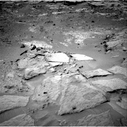 NASA's Mars rover Curiosity acquired this image using its Right Navigation Cameras (Navcams) on Sol 302