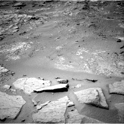Nasa's Mars rover Curiosity acquired this image using its Right Navigation Camera on Sol 302, at drive 434, site number 6