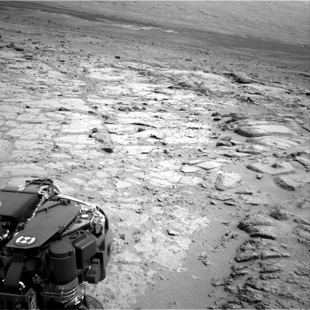 Nasa's Mars rover Curiosity acquired this image using its Right Navigation Camera on Sol 302, at drive 450, site number 6